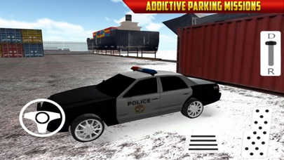 Car Parking: Police Office Car Screenshot on iOS