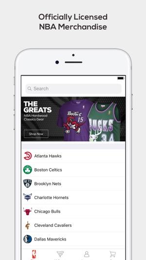 f05d5158d725 Fanatics NBA Shop on the App Store