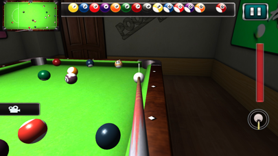Pool Billiard game City 3D screenshot four