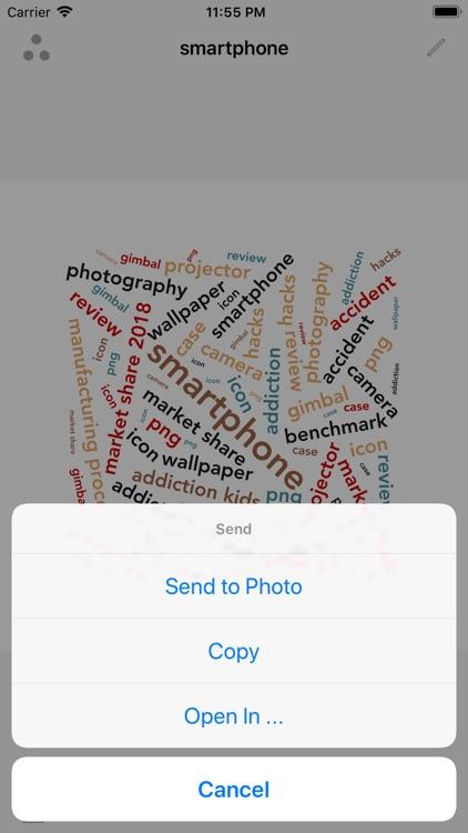 Smart Word Cloud screenshot-5