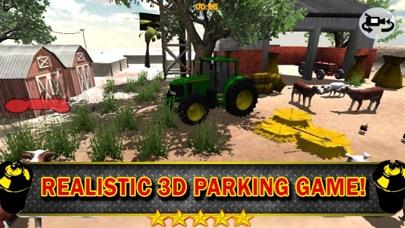 3Dファームトラクター駐車シミュレータのおすすめ画像4