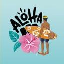 Sunshine Hawaii Luau Stickers