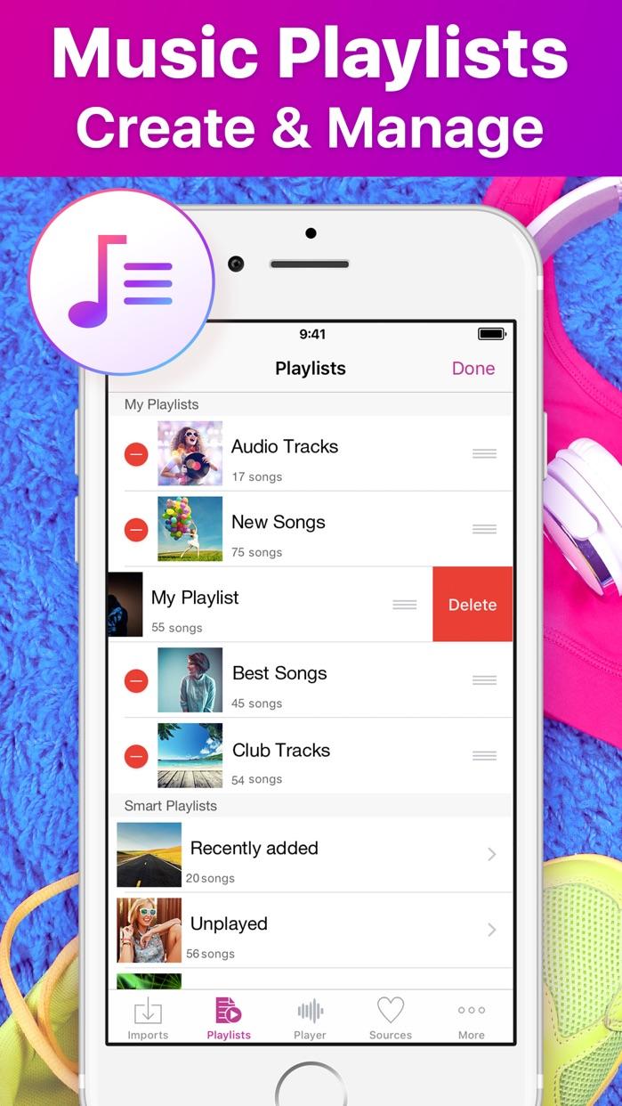 Music Cloud Offline Screenshot