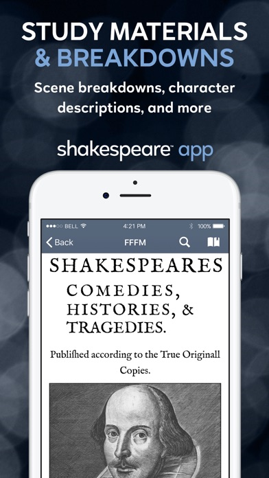 Shakespeare screenshot three