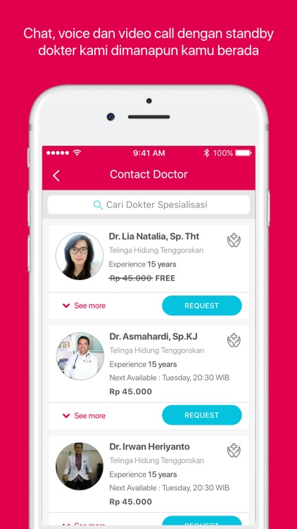 Halodoc: Doctors & Medicines screenshot-3