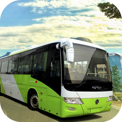 Hill Tourist Bus: Driving Car