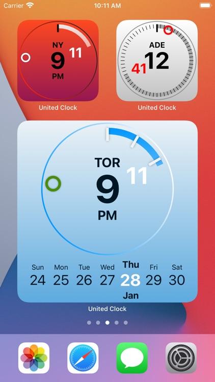 United Clock screenshot-5