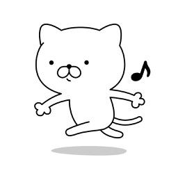 にゃんこDX(毎日使える)白猫A