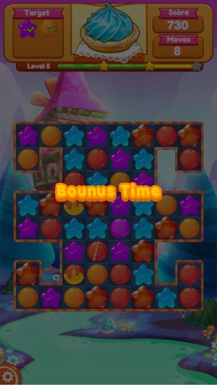 Sweet Candy Blast Fruit puzzle screenshot-4