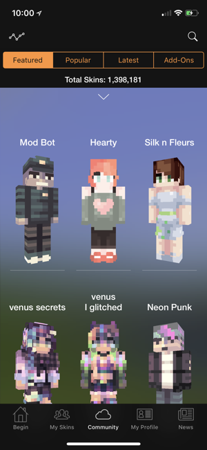 Minecraft Skin Studio On The App Store