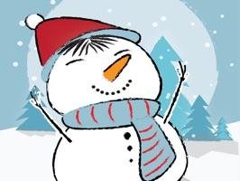 Snowman Emoji Stickers