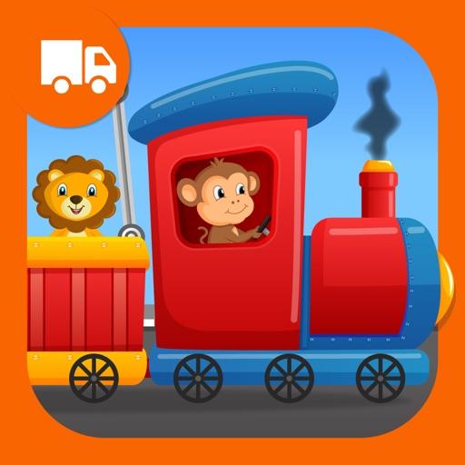 Zoo Safari Animals Train