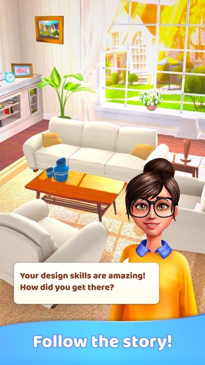Merge Decor Game: Home Design screenshot-4