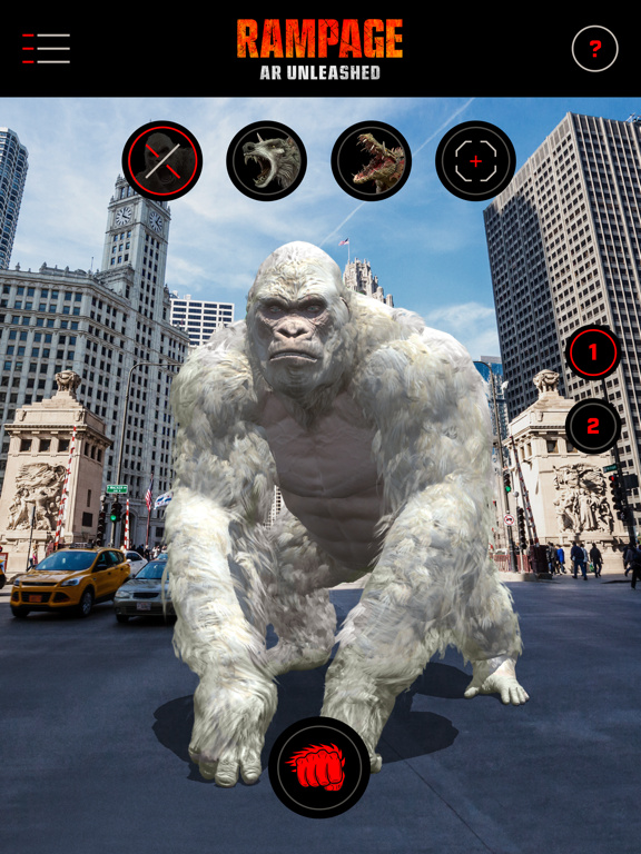 Rampage: AR Unleashed screenshot 9