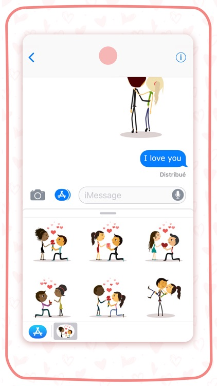 Emojis for lovers and friends screenshot-3