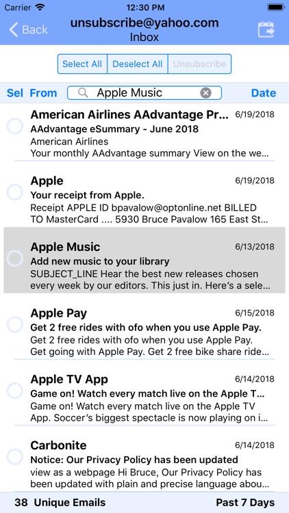 UnSubscribe screenshot-7