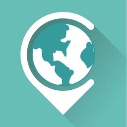 稀客地图 - 中文境外旅游地图
