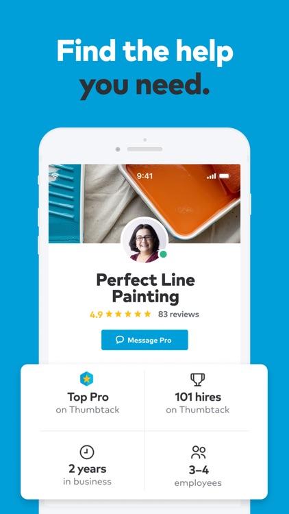 Thumbtack: Hire Service Pros