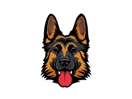 Get this German Shepherd Emoji Stickers Made Just For You