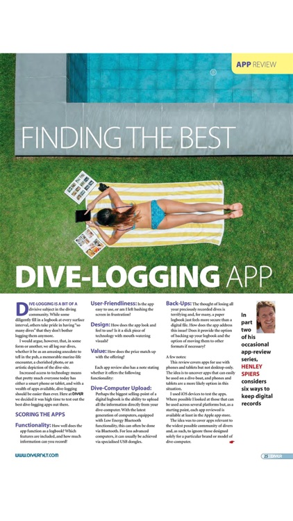 DIVER MAGAZINE screenshot-1