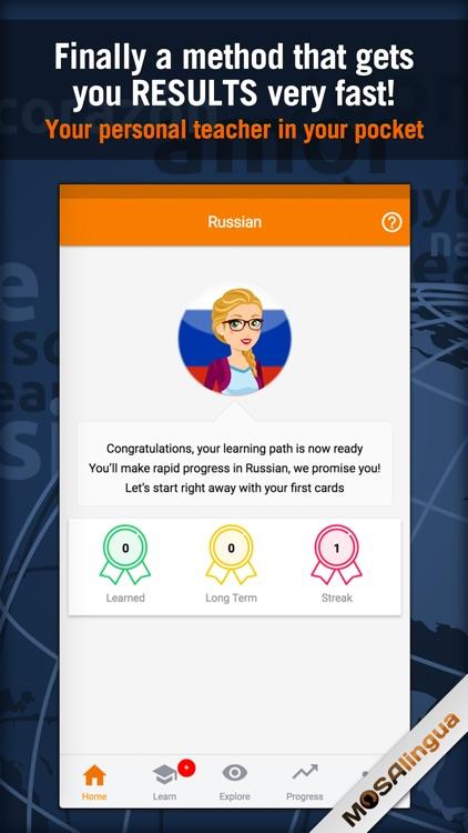 Learn Russian - MosaLingua