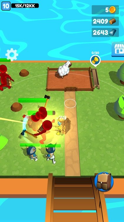 Buildy Island 3d: Chop & Craft screenshot-8