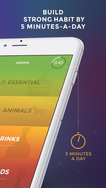 Drops: Learn 30 new languages screenshot-3