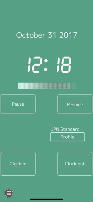 timesheet clock