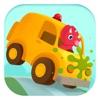 恐龙汽车 - 儿童赛车, 卡丁车游戏总动员