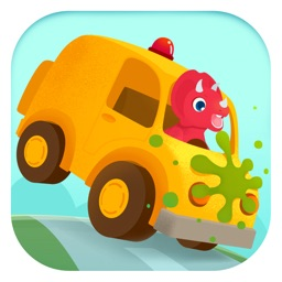 Dinosaur Car - Truck Games