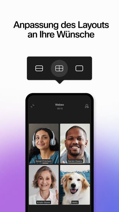 Cisco Webex MeetingsScreenshot von 4