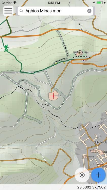 Aegina topoguide screenshot-3