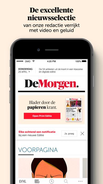 De Morgen - Nieuwsのおすすめ画像3