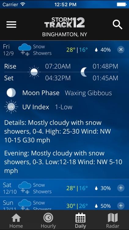 WBNG Storm Track 12 screenshot-3