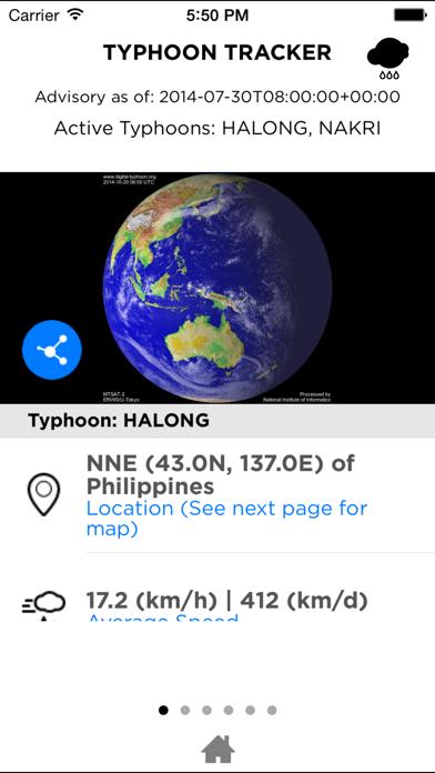 Typhoon Trackerのおすすめ画像1