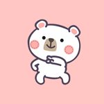 Funny Bear Dancing Stickers
