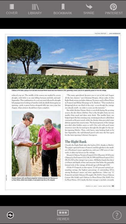 Wine Spectator Magazine screenshot-2