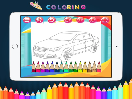 Cars Coloring Book Kids Game App Price Drops
