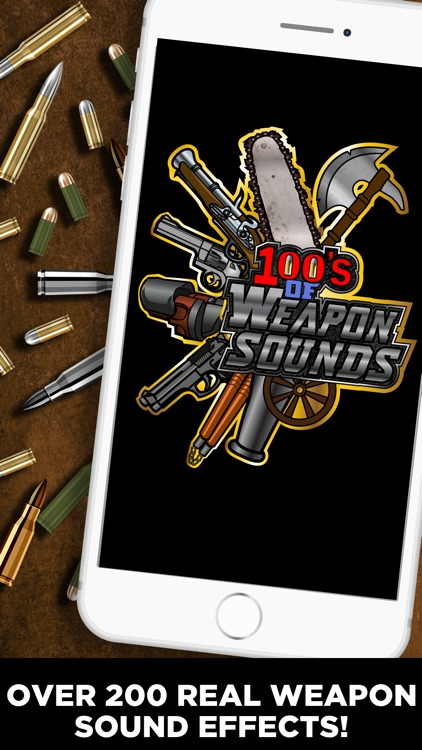 100+ Weapon Sounds & Buttons