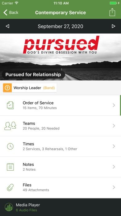 Planning Center Services Скриншоты4
