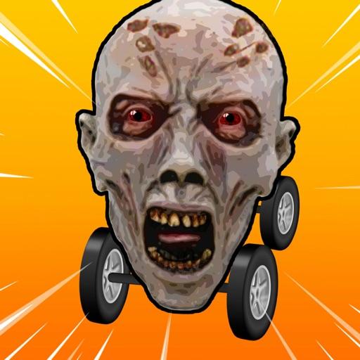 Lets Go Scary HEAD CAR Race 2