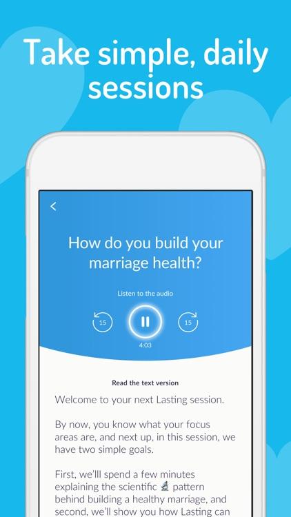 Lasting: Marriage Health App screenshot-3