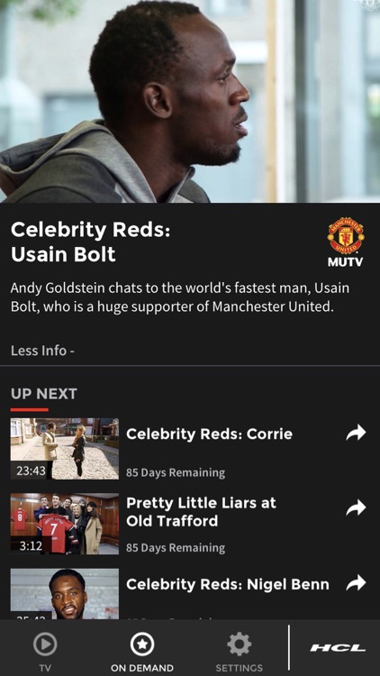 MUTV - Manchester United TV screenshot-5
