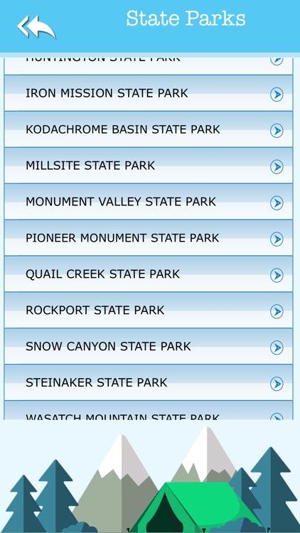 Utah Camping & State Parks screenshot-3
