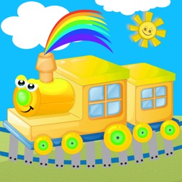 Train Games for Colors 1 2 3
