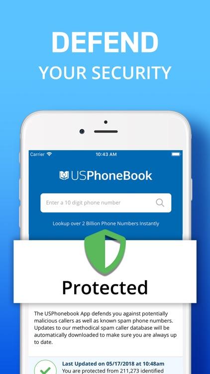 USPhoneBook: Reverse Caller ID screenshot-4