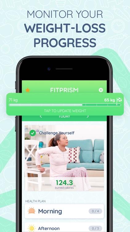 FitPrism: Weight Loss Workout screenshot-0