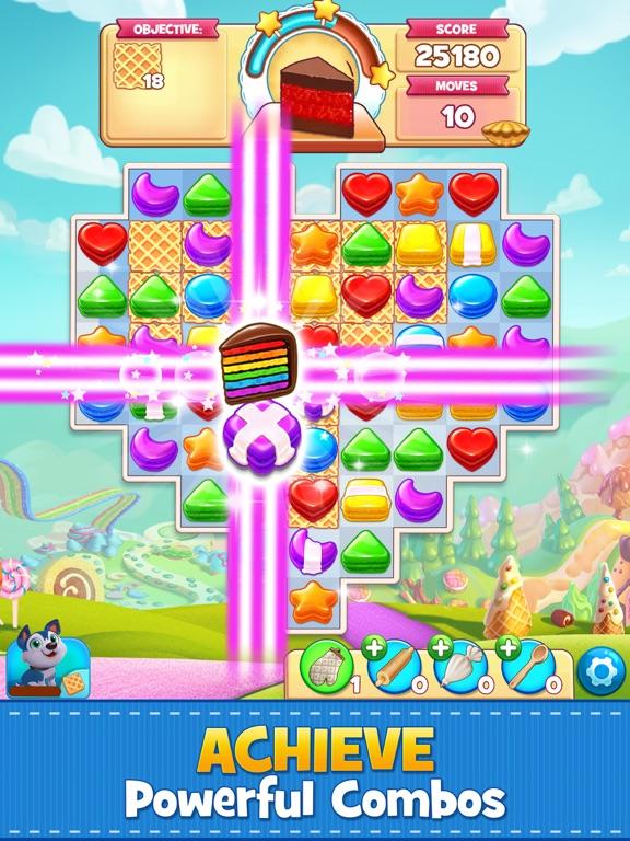 Cookie Jam: Match 3 Games iPad app afbeelding 5