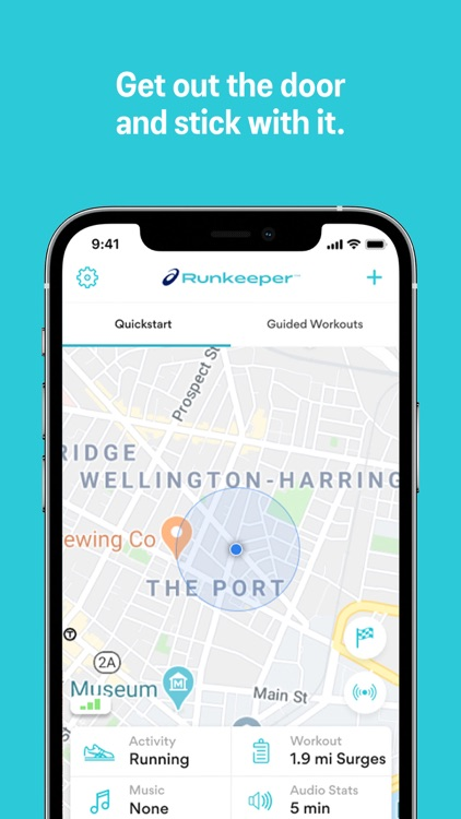 Runkeeper—Distance Run Tracker screenshot-0