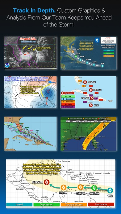 Screenshot for Hurricane Tracker in United States App Store